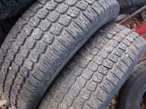 2 pneu d'hiver 195-75-14
