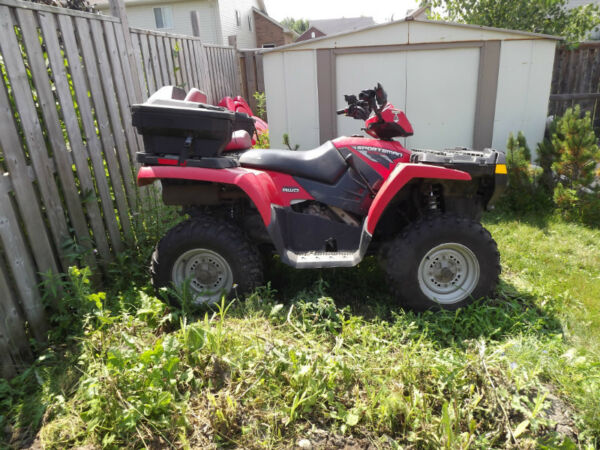 Used 2009 Polaris Sportsman 500HO 4X4