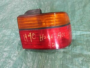 Honda Accord Right Tail Light 1990 1991