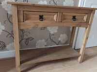 Hall console table for sale