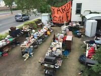 World record yard sale! As seen on TV!