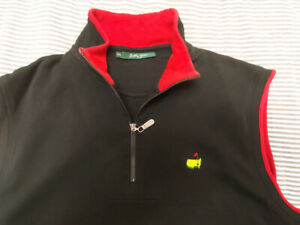 Mens XXL Bobby Jones Masters zip vest - like new condition - $15