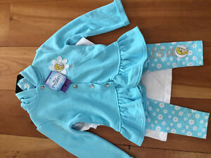 New! Disney frozen 3 piece outfit size 4 Kitchener / Waterloo Kitchener Area image 1