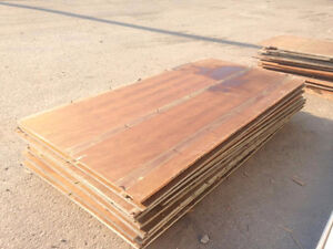 "PLYWOOD 3/4"" USED"