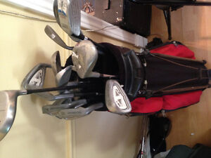 Right hand golf clubs very nice set