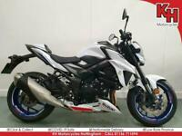 Suzuki GSX-S 750 White 2019 - Low Mileage, ABS, Traction Control, USD Forks