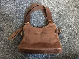 Animal Leather Handbag Small