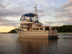 36 ft Marine Trader Double Cabin Coastal Cruiser
