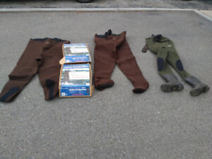 NEOPRENE WADERS,  AND WADER SHOES