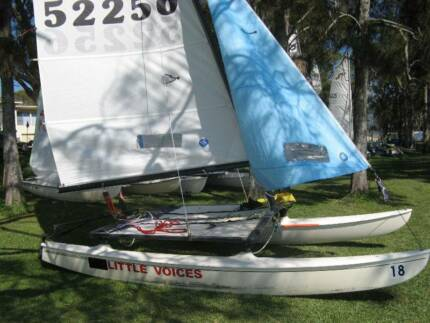 Hobie 14 with registered trailer