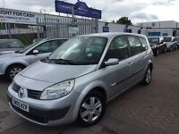 2005 (05) RENAULT GRAND SCENIC 1.6. 7 SEATER. BARGAIN.