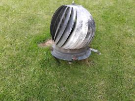 Chimney cowl spinner