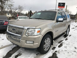 2007 Ford Explorer Limited 4x4 V8 **3rd ROW/AWD/Leather/LOW KM**