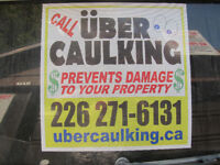 UBER Caulking- Capping and Stucco Repair Ask about our Warranty