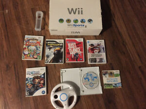 sell or maybe trade wii with games