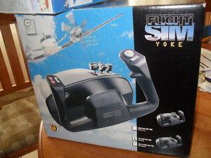 PC Flight Sim Yoke 2002