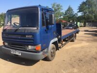 Leyland daf 45/7.5ton recovery truck