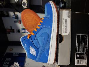 Nike Air Jordan 1 and Supra Skate Shoes