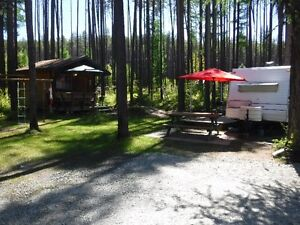 For Sale Fully Serviced RV Site on Moyie Lake BC