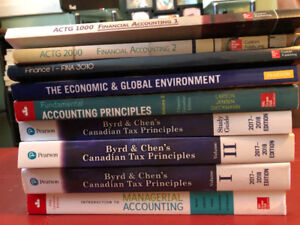 NSCC - Business Administration - Financial Accounting Textbooks