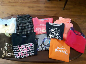 LOT-34 items Girls Clothes. Sz 10/12. Clean. No rips. $19.00