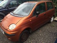 Daewoo Matiz 0.8 SE+ WE ARE BREAKING THIS CAR