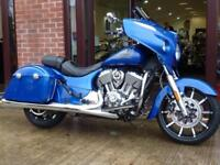 INDIAN CHIEFTAIN LIMITED BRILLIANT BLUE 2018 MODEL