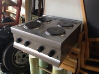 Hot plate catering 4 hob
