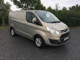 2014 (64) Ford Transit Custom 2.2TDCi ( 125PS ) 2700 L1H1 Limited 1 Owner FSH