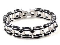 "Stainless Steel Chain Link Bracelet 8 1/2"" inchs"