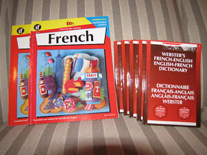 2 French Work books-Brand New! Elementary and Junior..