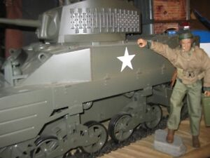 gi joe Ultimate Soldier WW2 M5  Tank 1:6 Scale,whit true PILOT