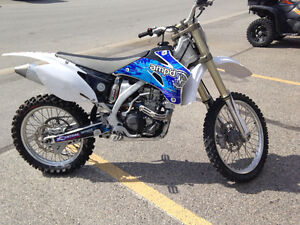THIS BIKE WAS STOLDEN 2008 YZ250F