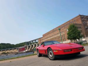 Belle Corvette 1984  / échange possible pick up 1500  et plus