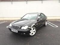 2001 Mercedes-Benz C200 Kompressor 2.0 - Black - 6 Speed Manual - Long MOT
