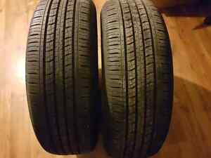 Selling 2 all season tires 225/65R17!