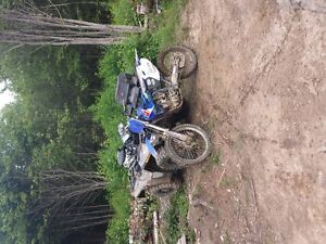 *STILL AVAILABLE* 2001 Yamaha Yz250f with Registration
