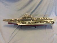 Radio controlled model Soviet Russian Aircraft Carrier Kiev Киев