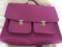 Pink Paperchase satchel as new REDUCED
