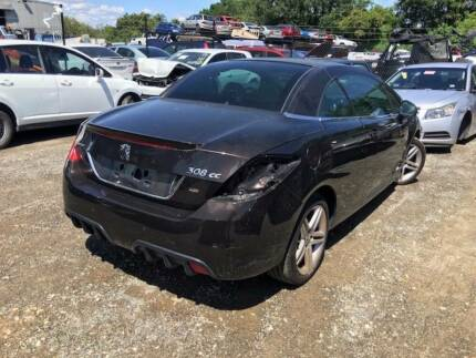 Peugeot 308 CC CONVERTIBLE WRECKING FOR PARTS