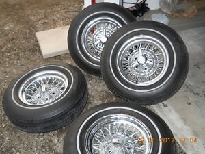 Ford Wire Wheels