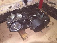 Lifan 125cc 4 speed manual pit bike engine