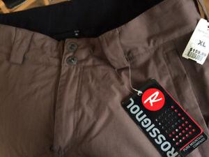 (Neuf)  pantalon de neige pour homme (Rosignol XL).
