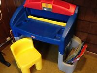 Little tikes desk & chair