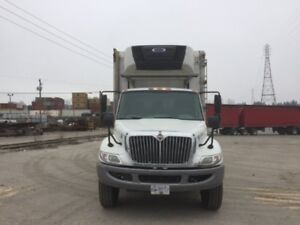 2014 International 4300M7 4x2, Used Reefer Van