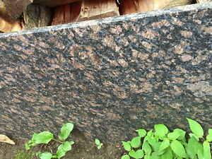slab of granite