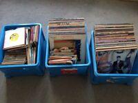 FANTASTIC VINYL RECORD COLLECTION! 380+ items LP's & SINGLES!