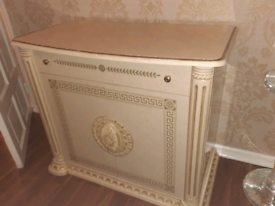 marble side cabinet £70