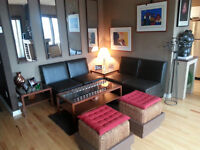 """Fully furnished executive """"Top Floor"""" Condo in Downtown."""
