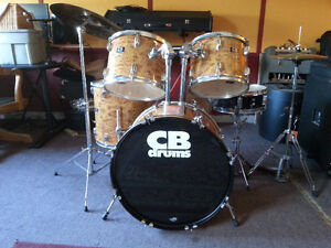 Complete CB Drum Set with Cymbals